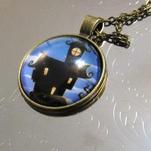 Haunted Halloween Necklace